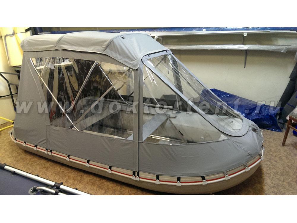 тенты-трансформеры на лодки пвх хантер