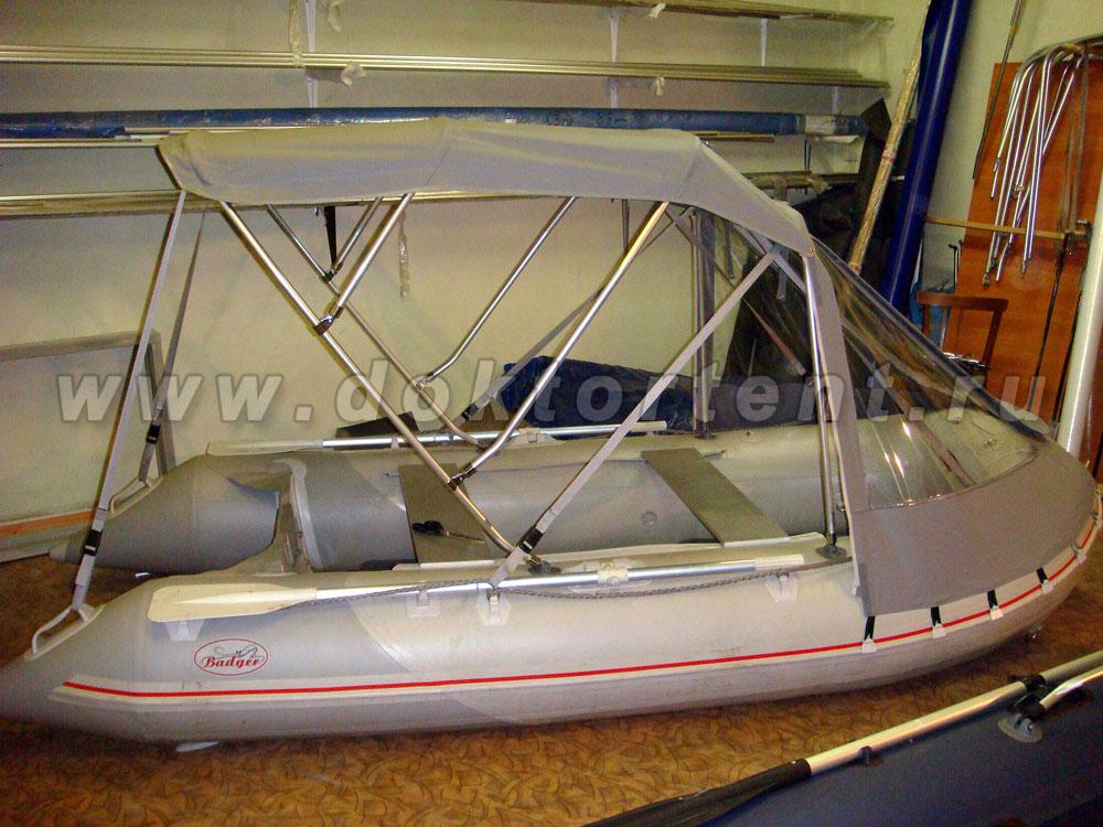 Тент на лодку ПВХ: купить в в Самаре