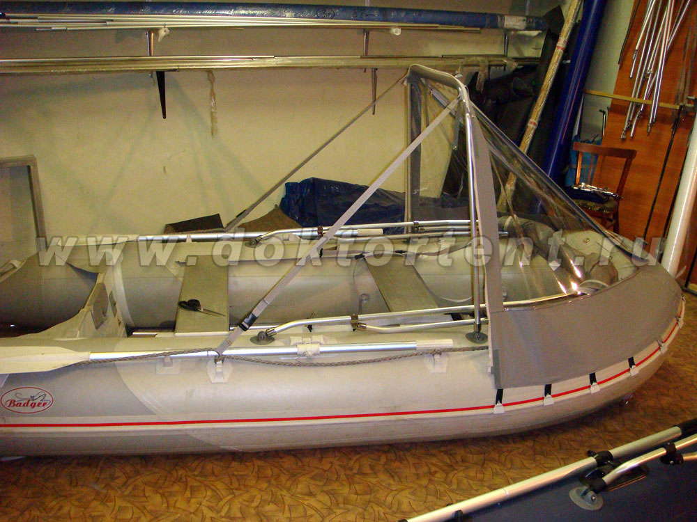 тент на лодку пвх баджер 300