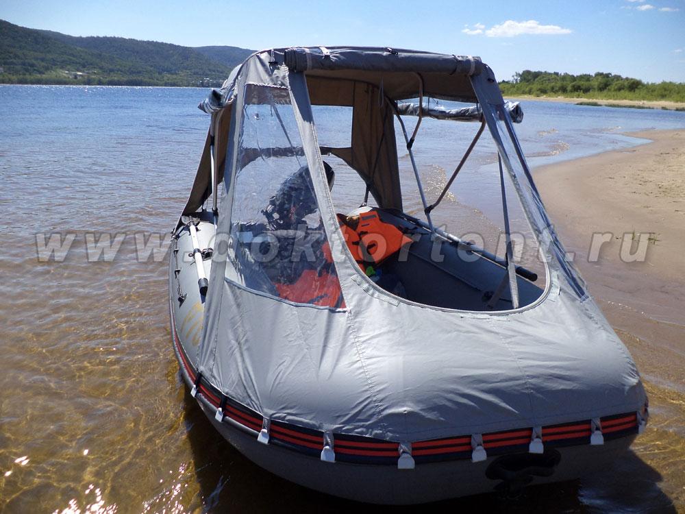 тенты на лодки компас