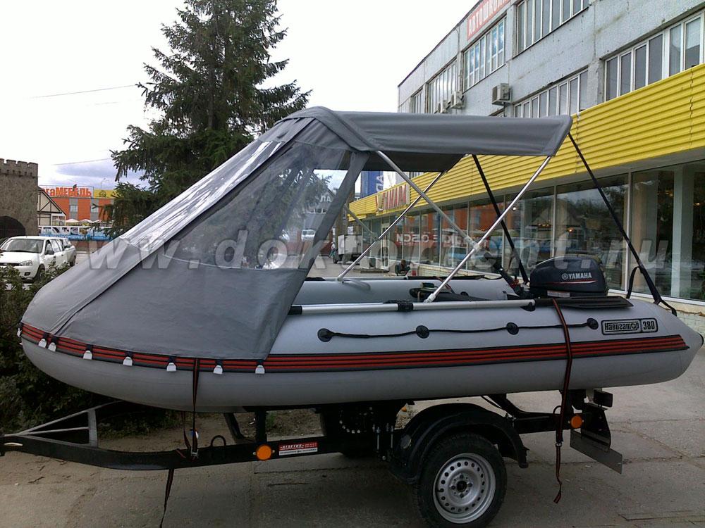 тенты для лодок пвх 380