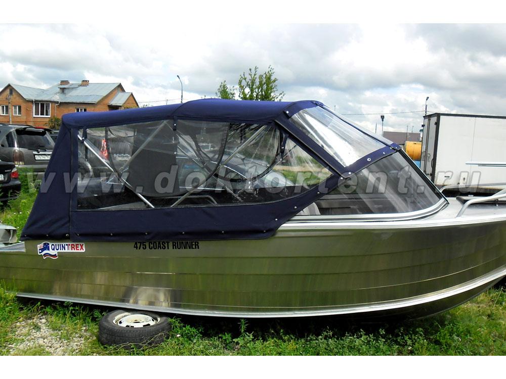 конструкции ходовых тентов на лодки