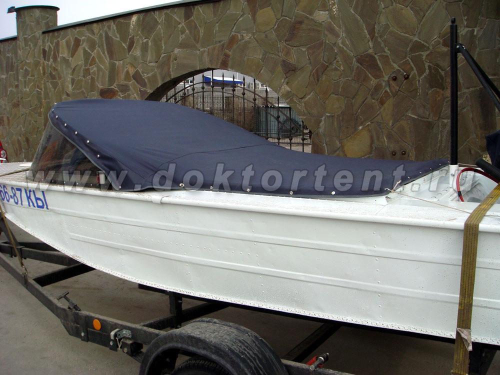 как лучше крепить тент на лодку